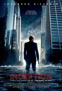 Poster for the film Inception