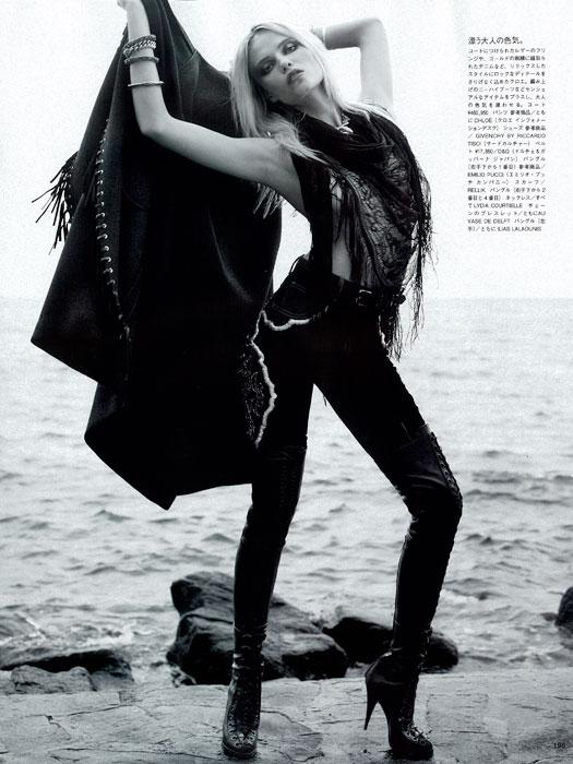 Natasha Poly By Karl Lagerfeld Vogue Nippon The Front