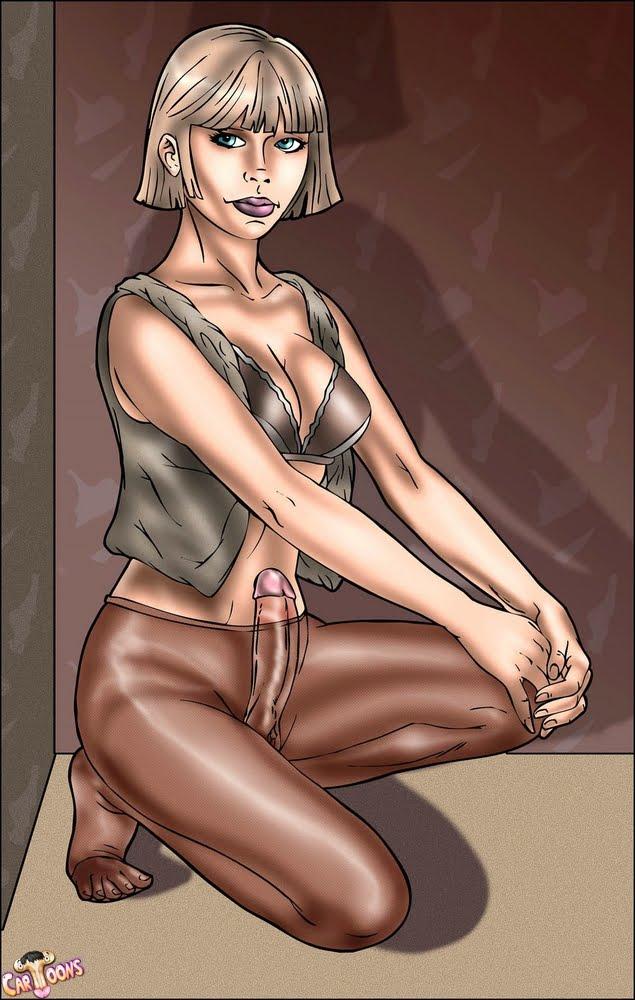 Cartoon she males