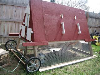 Chicken Tractor Eggstraordinaire