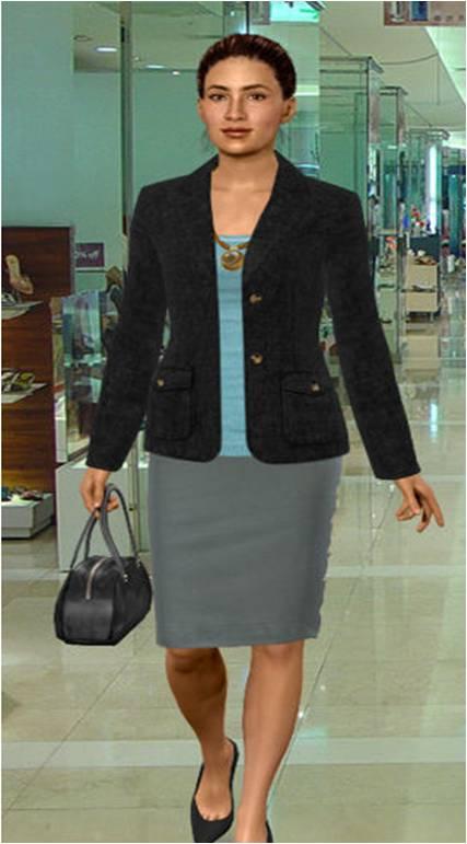 Juana\u0027s Digital Story Place Job Interview Outfit - bank teller interview