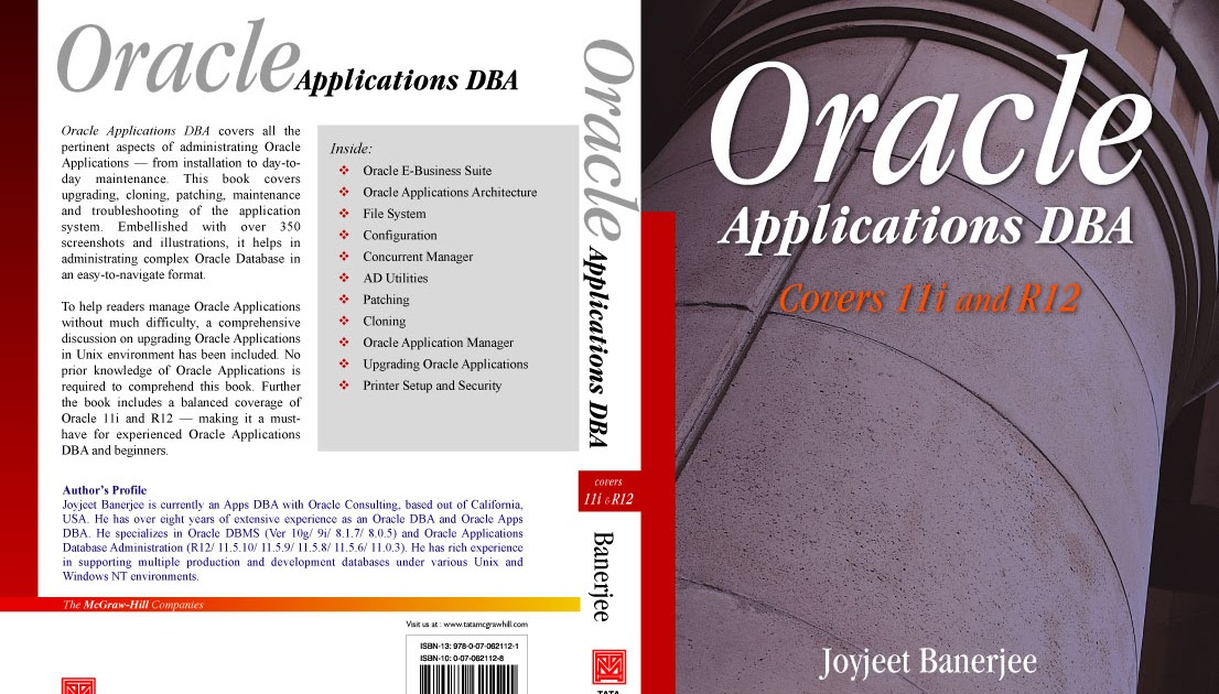 Oracle applications dba joyjeet banerjee