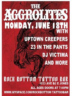 The Aggrolites Hit Rock Bottom Monday