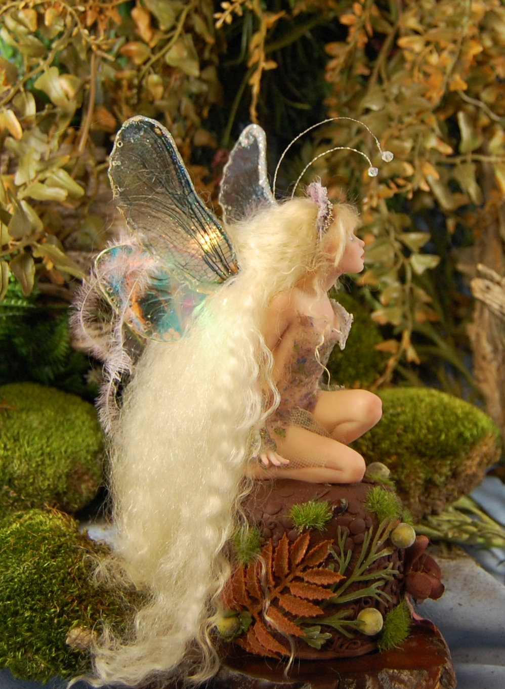 Mini Sculpture Art Dolls in Denver OOAK fairy Rapunzel