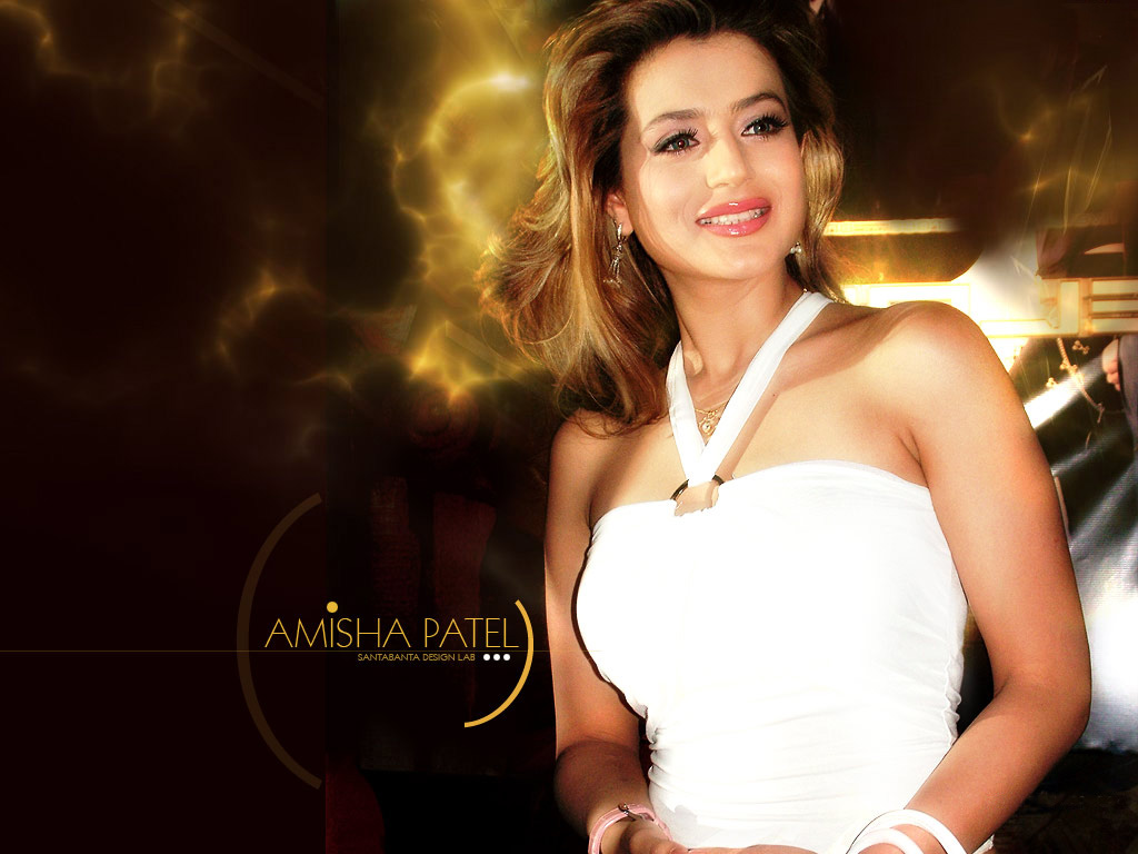 Amisha Patel Hot Wallpapers  Actrees Walls-3063