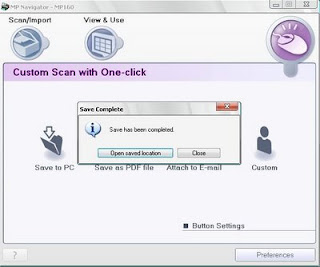 save scan to pdf scan mp160 pdf