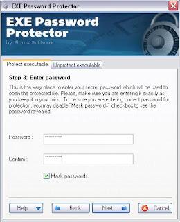program exe password protector