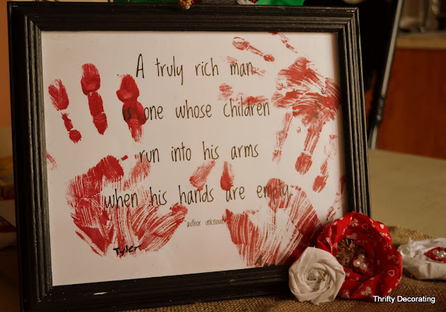 Valentines Day Quotes For Grandma: Thrifty Decorating: Last Minute Grandparent Valentine Card