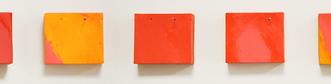 Summer, 2006. acrylic on paper. 4.5 x varied width x 1.3 cm