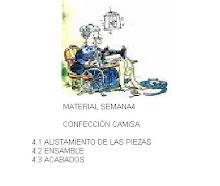SEMANA4 CONFECCIÓN CAMISA