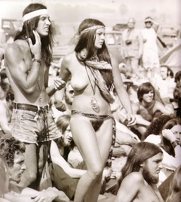 vintage nude hippies