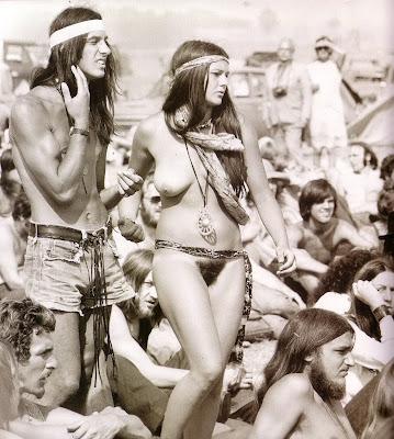 vintage nude hippies