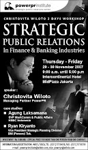 Strategic Public Relations in Finance & Banking Industries Workshop