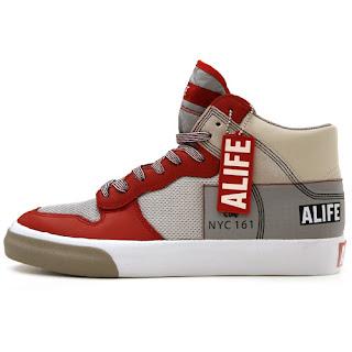 Alife Everybody High America Leather Red 3565e4e97