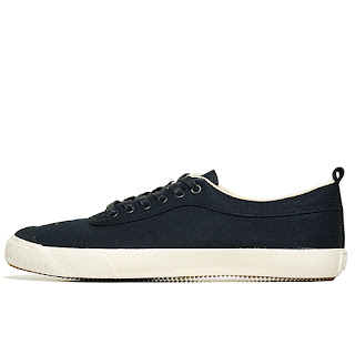 Generic Surplus Plimsoll Canvas Navy