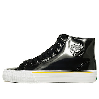 PF Flyers Center Hi Reiss Black  Patent
