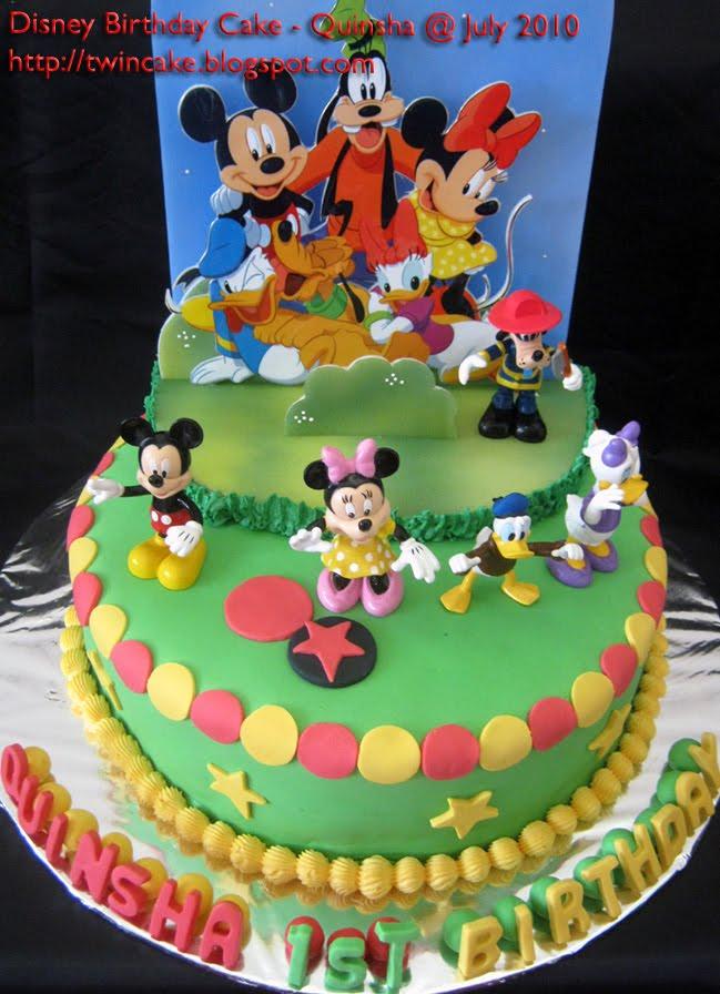 Twincake Disney Cake Quinsha