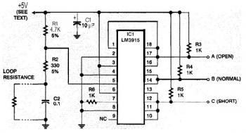 Safe and Security System Alarm circuit diagram