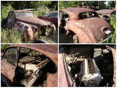 1958 Jaguar project/parts car $1,000 - $1000 (Gray Court ...