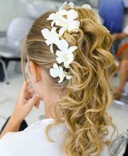 penteado de debutante
