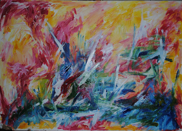 Nathan Stanton Art Response Abstract Expressionism
