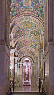 Cathedral Basilica of Saint Louis, in Saint Louis, Missouri - west ambulatory