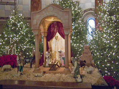 Cathedral Basilica of Saint Louis, in Saint Louis, Missouri - crèche