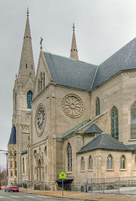 Most Holy Trinity Roman Catholic Church, in Saint Louis, Missouri, USA - exterior