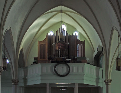 Immaculate Conception Catholic Church, in Columbia, Illinois, USA - pipe organ