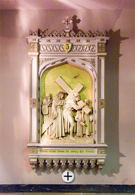 Saint Margaret of Scotland Church, in Saint Louis, Missouri, USA - station of the cross
