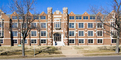 Former Christian Brothers College High School, in Clayton, Missouri, USA