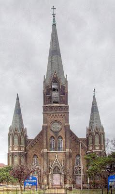 Saint Matthew the Apostle Catholic Church, in Saint Louis, Missouri, USA - exterior