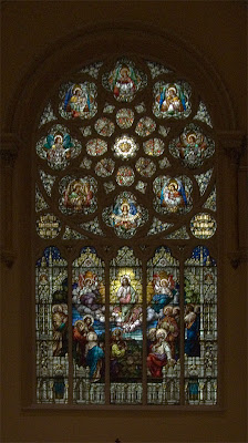Saint Anthony of Padua Roman Catholic Church, in Saint Louis, Missouri, USA - stained glass window