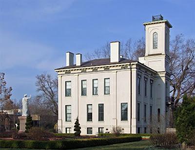 Missouri Botanical (Shaw's) Garden, in Saint Louis, Missouri, USA - Tower Grove House