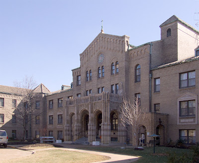 Franciscan Sisters of Mary convent, in Richmond Heights, Missouri, USA - exterior