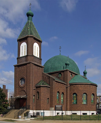 Saint Michael the Archangel Russian Orthodox Church, in Saint Louis, Missouri, USA - exterior