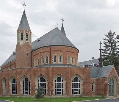 Chapel of the Sisters of the Most Precious Blood, in O'Fallon, Missouri, USA - exterior