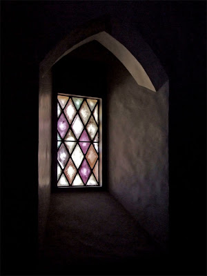 Saint Luke the Evangelist Church, in Richmond Heights, Missouri - narthex window