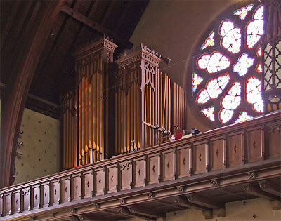 Saint Luke the Evangelist Church, in Richmond Heights, Missouri - pipe organ
