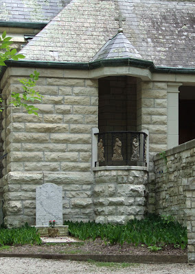 Shrine of Our Lady of Sorrows, in Starkenberg, Missouri, USA - outdoor pulpit