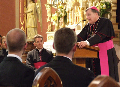 Saint Francis de Sales Roman Catholic Oratory, in Saint Louis, Missouri, USA - Archbishop Raymond L. Burke discusses his decision to keep this church open