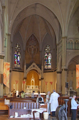 Most Holy Trinity Roman Catholic Church, in Saint Louis, Missouri, USA - interior