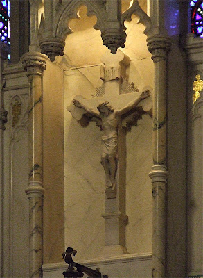 Saint Roch Roman Catholic Church, in Saint Louis, Missouri, USA - crucifix