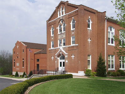 Saint Theodore Roman Catholic Church, in Flint Hill, Missouri, USA - schools