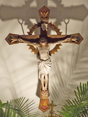 Saint Theodore Roman Catholic Church, in Flint Hill, Missouri, USA - crucifix