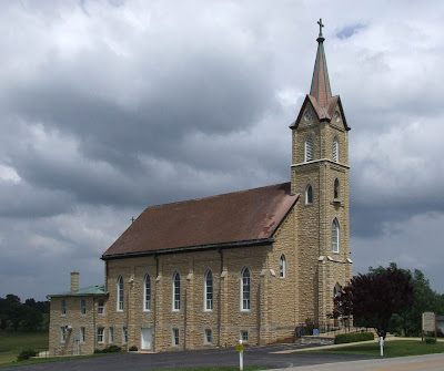 Saint Ann Roman Catholic Church, in Clover Bottom, Missouri, USA - exterior