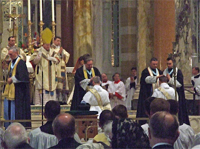 Cathedral Basilica of Saint Louis, in Saint Louis, Missouri, USA - Ordinations to the priesthood, Institute of Christ the King Sovereign Priest, June 15, 2007