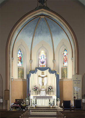 Immaculate Conception Roman Catholic Church, in Old Monroe, Missouri, USA -