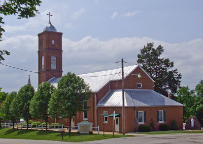 Saint Gertrude Roman Catholic Church, in Krakow, Missouri, USA -