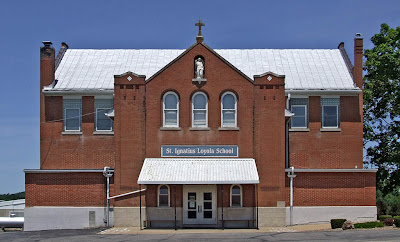 Saint Ignatius of Loyola Roman Catholic Church, in Concord Hill, Missouri, USA - school